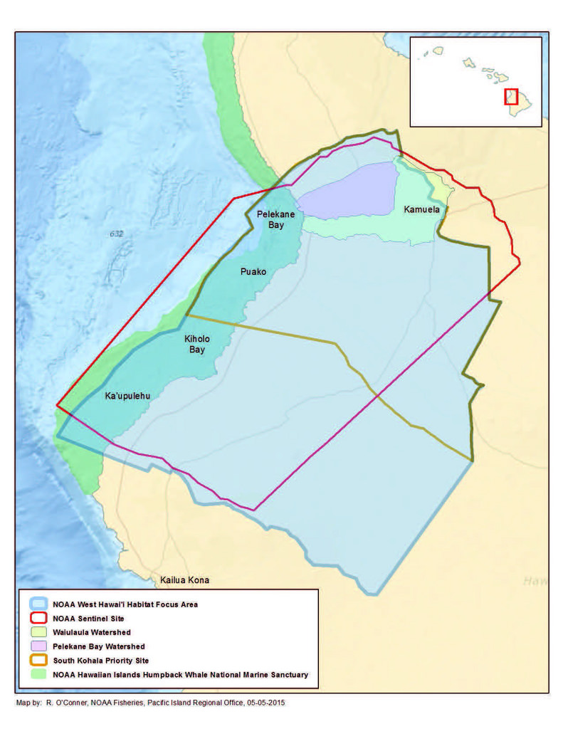 NOAA Habitat Blueprint West Hawaii Focus Area