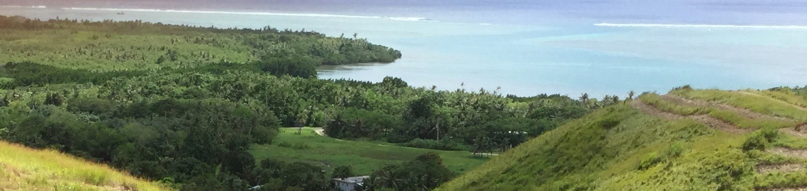 Panoramic of a demonstration site in Manell-Geus, Guam