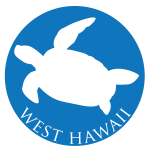 Click on the sea turtle icon to access the stor map about West Hawaii.
