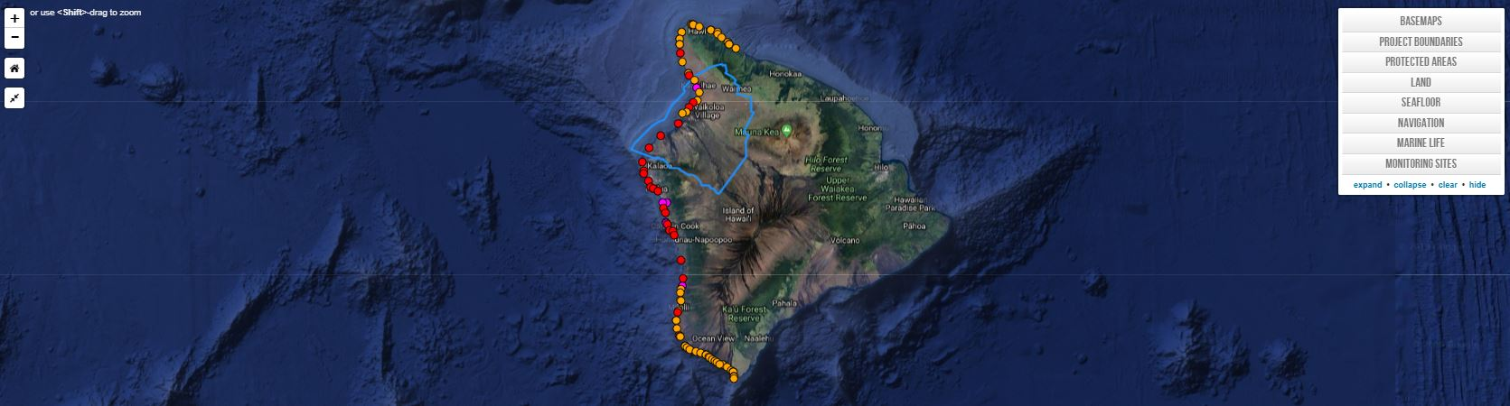 West Hawaiʻi HFA Map Viewer