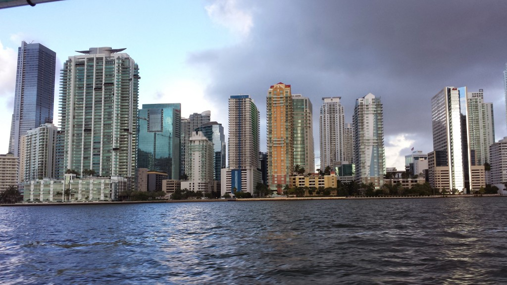 Biscayne Bay, Florida.